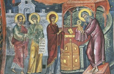 Праздник Сретения Господа нашего Иисуса Христа в Церковных песнопениях